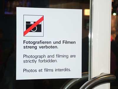 keine photos