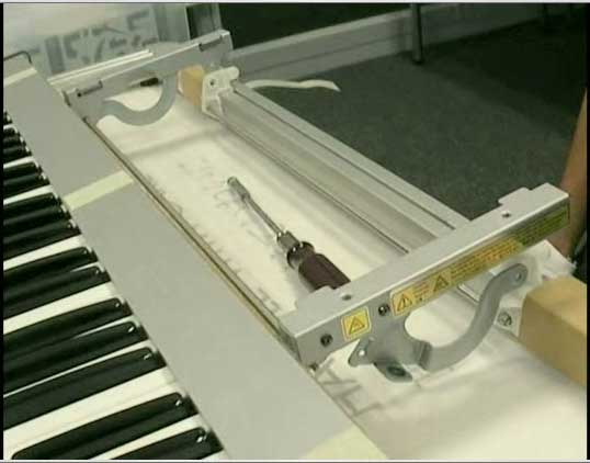 Korg Radias Panel Mechanism synthesizer