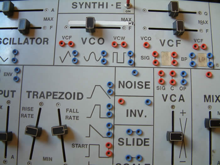 synthi e - david morley