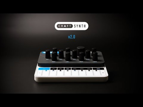 Modal CRAFTsynth 2.0 - Monophonic wavetable synthesiser