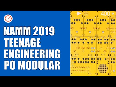 Teenage Engineering Modular First Look | Colorful & Affordable? | NAMM 2019