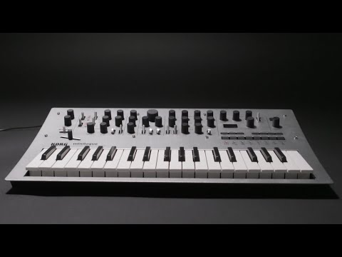 Korg minilogue Polyphonic Analog Synthesizer   Quicklook