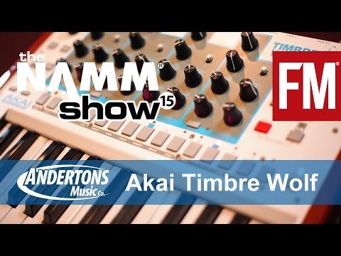NAMM 2015 - Akai Timbre Wolf Polyphonic Analogue Synth