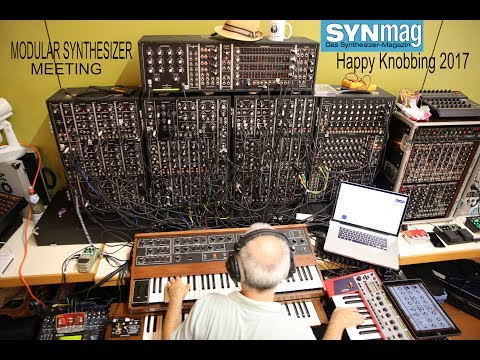 Happy Knobbing 2017, Modular Synthesizer Meeting, Germany