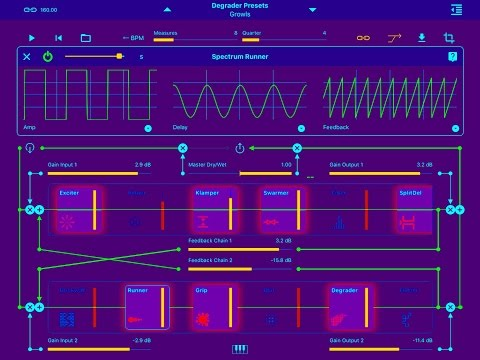 Moebius Lab by Amazing Noises, Demo for the iPad