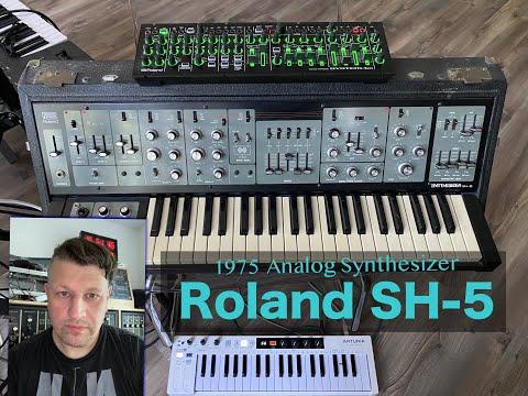 Roland SH-5 Analog Synthesizer - SequencerTalk Monolog - Besser als System 100 + SH7 - System 1m?