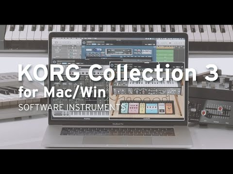 KORG Collection 3 - A Synthesizer Collection for the ages