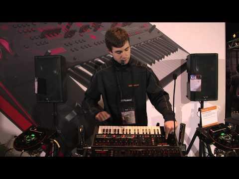 Roland JDXi Demonstration Namm 2015