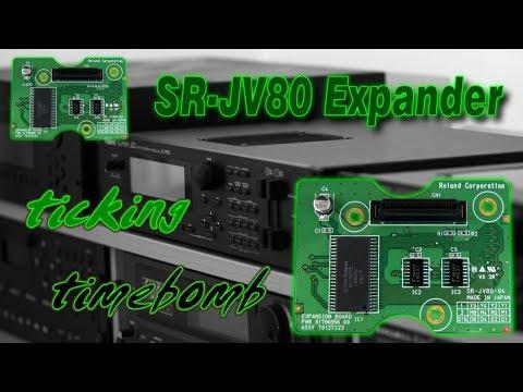 Roland SR-JV80 expansion card - important fix(!)