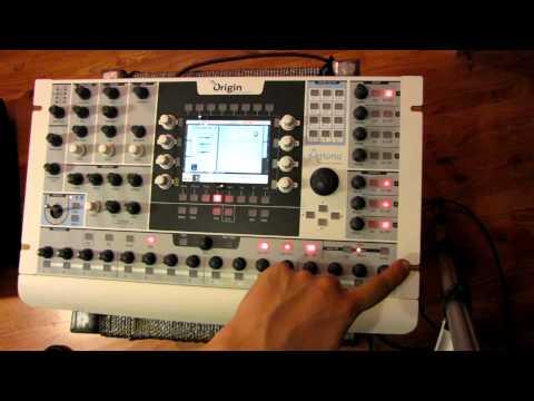 Arturia Origin Synthesizer Rundgang