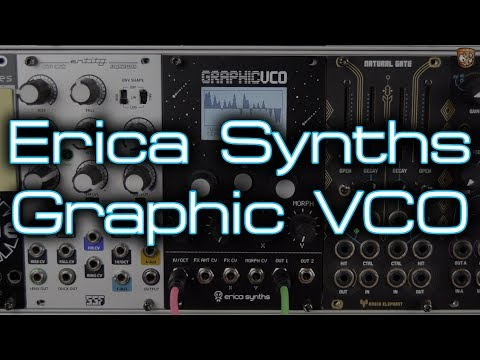 Erica Synths - Graphic VCO **In Depth Eurorack Demo**