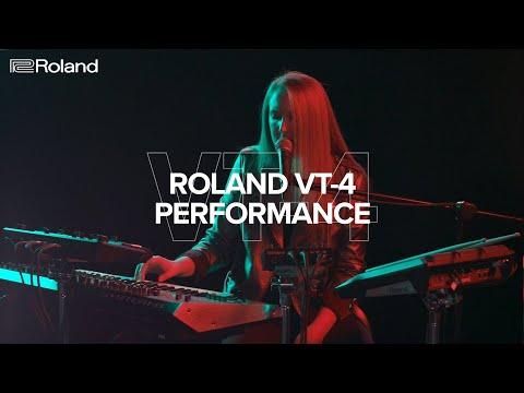 Roland VT-4 Voice Transformer Performance Demo