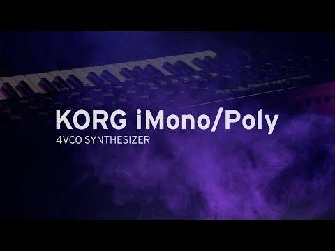 KORG iMono/Poly | 4VCO SYNTHESIZER