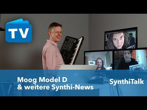 Synthi-Talk - Minimoog ist back und weitere News