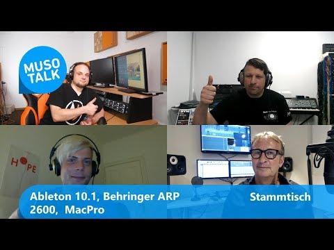 Ableton Live 10.1, Behringer Arp 2600 , Mac Pro - Stammtisch