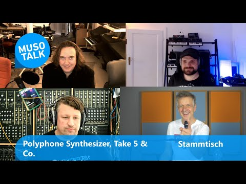 Polyphone Synthesizer, Sequential Take 5 & Co - Stammtisch