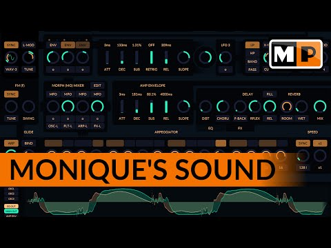 Monique Sound Preview - How This Synthesizer Sounds