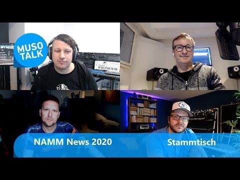 NAMM 2020 die wichtigsten News -Stammtisch