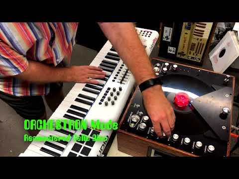 See @ NAMM! PANOPTIGON Prototype - New 2018 Optigan / Orchestron Disc Player