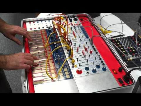 my first experience with a Buchla Music Easel