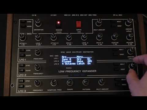 Low Frequency Expander's Arpeggiator