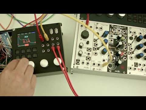 Sequencing and microtonal quantization + FM demo on the Percussa mSSP