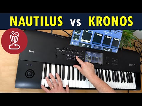 Korg NAUTILUS REVIEW // vs KRONOS // Tutorial including the new arp and drum sequencers