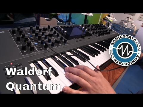MESSE 2017: Waldorf Quantum - 8 Voice Hybrid Poly Synth