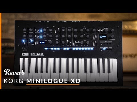 Korg Minilogue XD Polyphonic Analogue Synthesizer | Reverb Demo Video