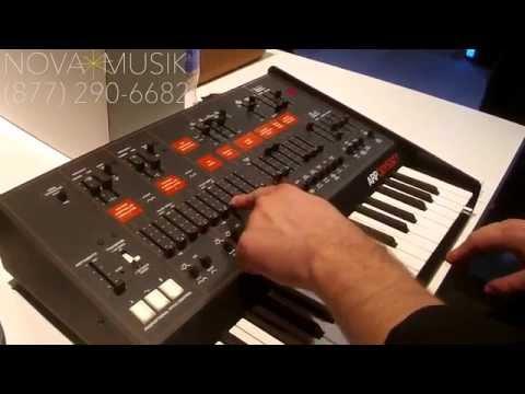 Nova Musik - Korg ARP Odyssey with Rich Formidoni at NAMM 2015
