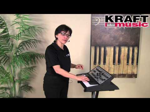 Kraft Music - Moog Sub Phatty Analog Synthesizer Demo with Linda Lafferty