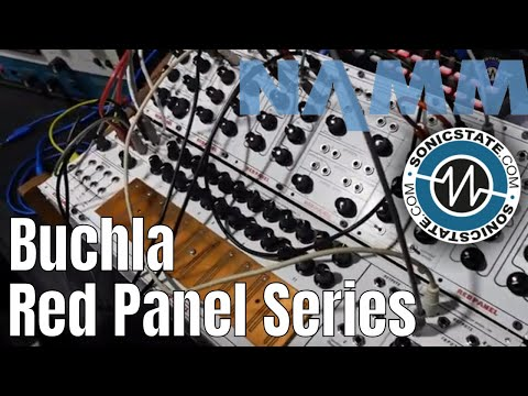NAMM 2019: Buchla Affordable Red Panel Series with Todd Barton