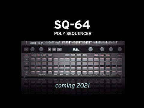 """""""Step Up"""" with the SQ-64 Polyphonic Sequencer"""