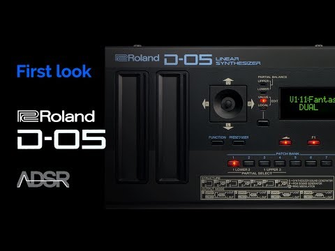 Roland D-05 - First Look and D-50 comparison