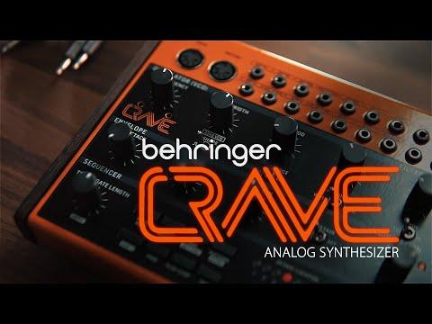 NAMM 2019 Behringer Crave Synthesizer