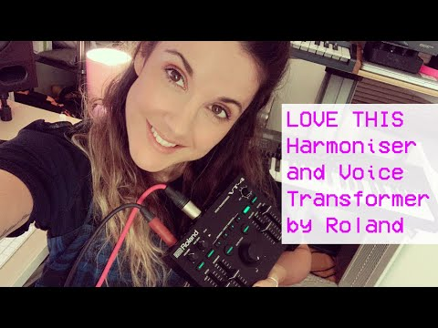 LOVE THIS Harmoniser and Voice Transformer by #Roland