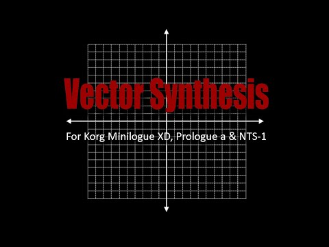 Preview: Vector Synthesis for Korg Minilogue XD, Prologue & NTS-1