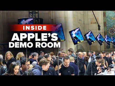 Inside Apple's NYC Mac and iPad demo room
