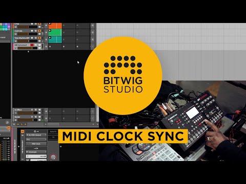 MIDI Clock Sync [Bitwig Studio]
