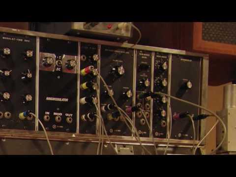"Early Bob Moog - the ""Max Brand Synthesizer"" aka ""Moogtonium"""