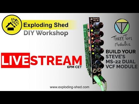 DIY Workshop - Threetom MS-22 Eurorack Module