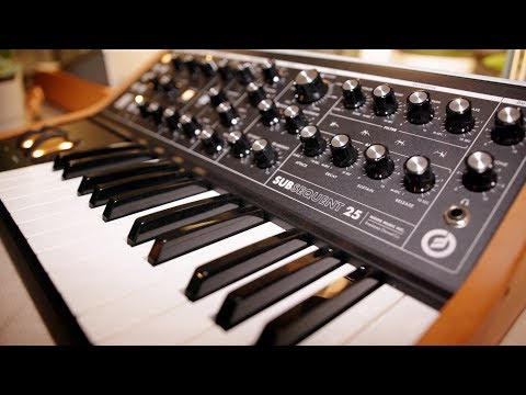 Moog Subsequent 25 - NAMM 2020