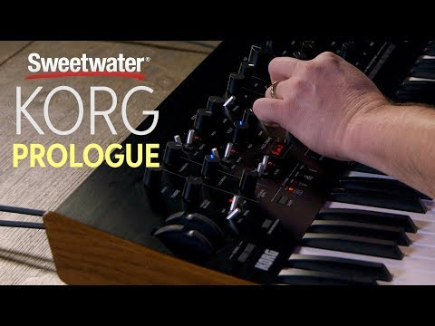 Korg Prologue Polyphonic Analog Synth Review — Daniel Fisher