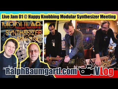 "Live Jam 01 @ Modular Synthesizer Meeting ""Happy Knobbing"" 2016"