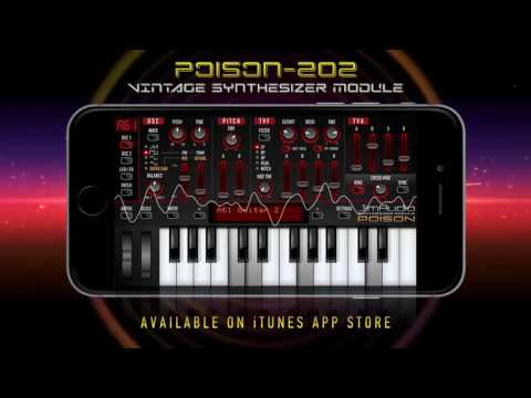 Poison-202 Vintage Synthesizer Module (factory presets demo)