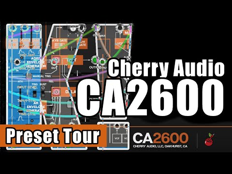 🎹 An ARP 2600 for 25$? 😱 CA2600 by Cherry Audio 👉 290+ presets played!