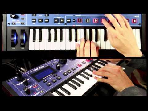 Novation // MiniNova synth tutorial: Selecting Sounds