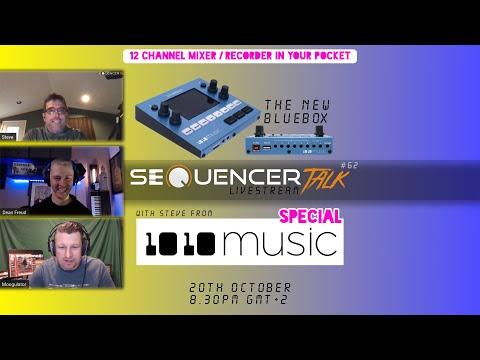 SequencerTalk 62 - 1010Music Bluebox Developer-Talk (english)