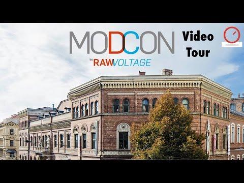 ModCon 2017 - Modular Synthesizer Convention Vienna Video Tour