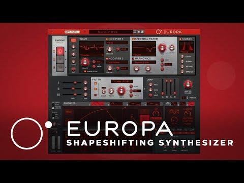 Europa Shapeshifting Synthesizer